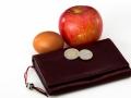Voor een appel en een ei iets kopen